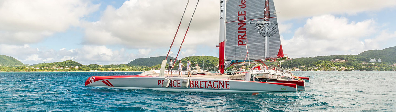 Défi Tour Martinique 2014 - Prince de Bretagne Maxi80
